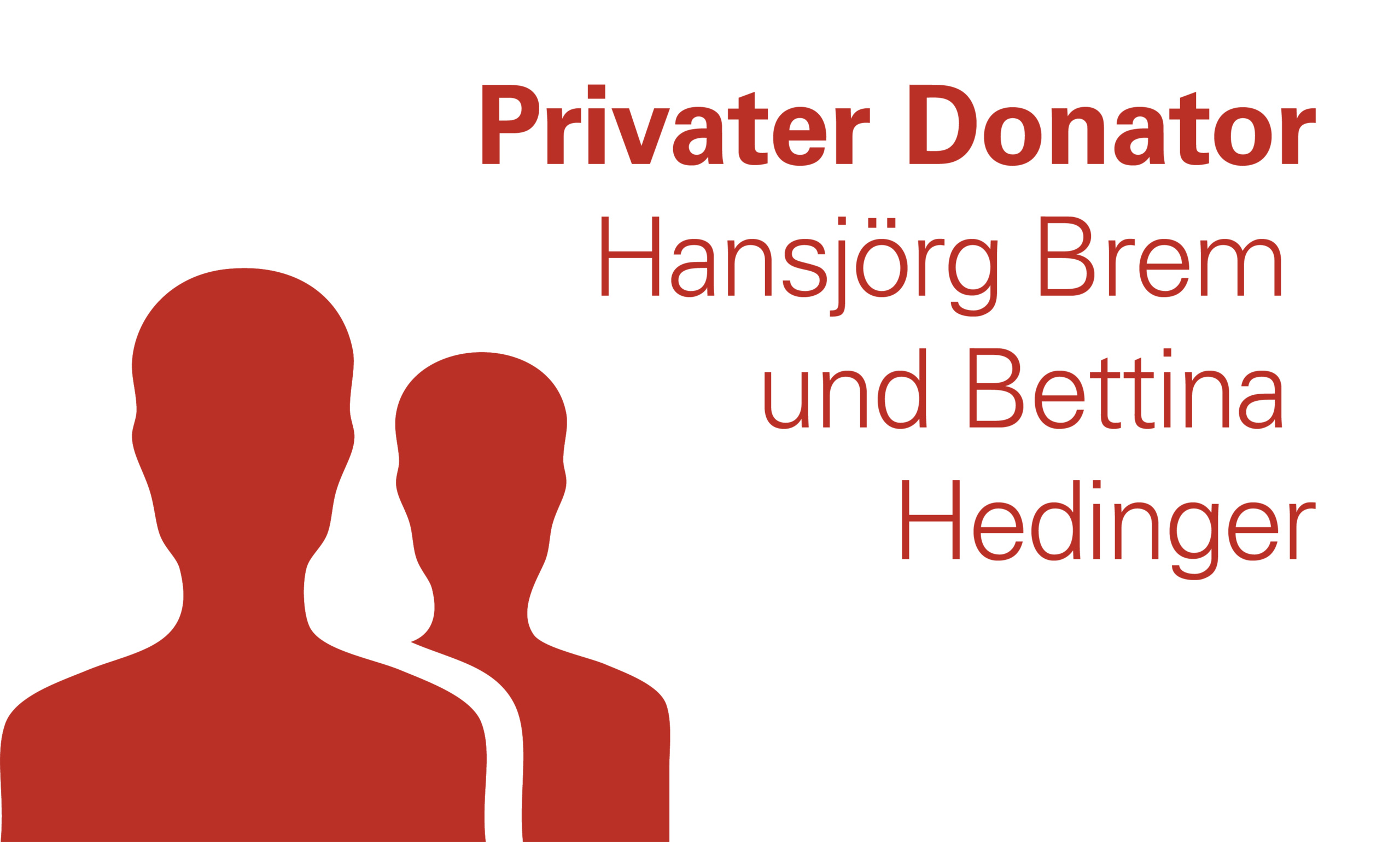 Hansjoerg Brem und Bettina Hedinger
